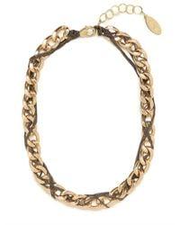 BaubleBar | Metallic Gold Pazzo Chain Strand | Lyst
