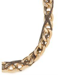 BaubleBar - Metallic Gold Pazzo Chain Strand - Lyst
