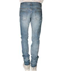 Dior Homme - Blue 19 Cm Selvadge Side Inside Out Jeans for Men - Lyst