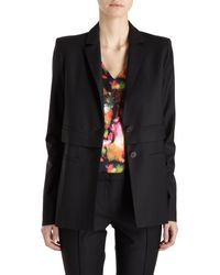 Icb - Black Tiered Suiting Jacket - Lyst