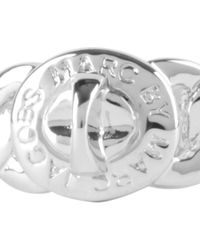 Marc By Marc Jacobs | Metallic Katie Turnlock Ring | Lyst