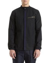 Tim Coppens - Black Hidden Placket Shirt for Men - Lyst