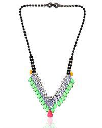Tom Binns   Black Electro Clash Nova Necklace   Lyst