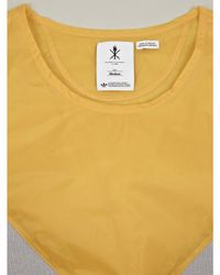Originals x Opening Ceremony | Yellow Mens Reverse Block Tshirt for Men | Lyst