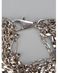 DSquared² | Metallic Layered Chain Bracelet for Men | Lyst