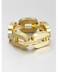 Michael Kors - Metallic Drama Chain Link Bracelet - Lyst