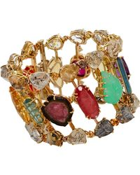 Sharon Khazzam - Multicolor Multi Gemstone Stepping Stone Bracelet - Lyst