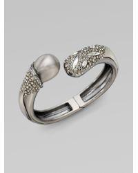 Alexis Bittar | Metallic Shellpearl Capped Bracelet | Lyst