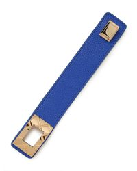 BaubleBar - Blue Cobalt Quilt Belt Wrap - Lyst