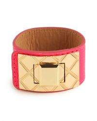 BaubleBar | Pink Quilt Belt Wrap | Lyst