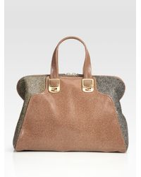 Fendi | Brown Chameleon Calf Hair Bag | Lyst