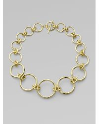 Ippolita | Metallic 18k Gold Link Necklace | Lyst