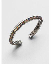 M.c.l  Matthew Campbell Laurenza - Multicolored Sapphire Sterling Silver Bracelet - Lyst