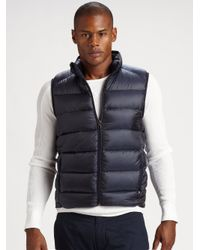 RLX Ralph Lauren - Blue Ultra Down Vest for Men - Lyst