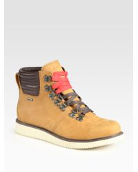 Timberland | Brown Abington Hiker Boots for Men | Lyst