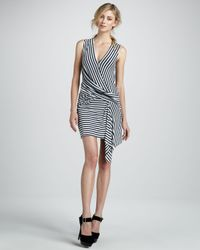 Bailey 44 - Blue Devil Ray Stripe Dress - Lyst