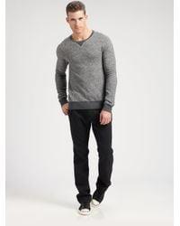 Converse - Gray Reverse Sweatshirt for Men - Lyst