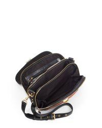 Rebecca Minkoff - Brown Mercer Color block Saddle Bag - Lyst