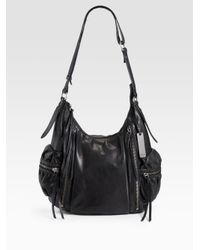 Botkier | Black Aiden Crossbody Hobo | Lyst