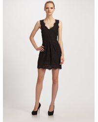 Joie - Black Rori Lace Dress - Lyst