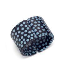 Pono - Blue Half Pipe Cuff - Lyst