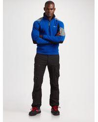 RLX Ralph Lauren - Blue Stretch Fleece Half-zip Pullover for Men - Lyst