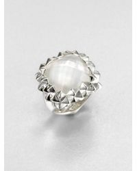 Stephen Webster - White Mother-of-pearl Doublet Ring - Lyst