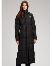 The North Face | Black Triple Long Puff Jacket | Lyst