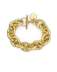 1AR By Unoaerre | Metallic Oval Link Bracelet | Lyst