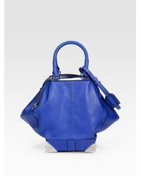 Alexander Wang | Blue Marina Top Handle Bag | Lyst
