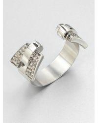 Ca&Lou | Metallic Tilda Swarovski Crystal Cuff | Lyst