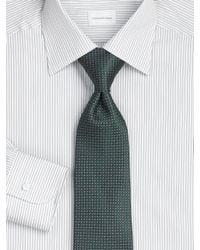 Ermenegildo Zegna | Green Neat Silk Tie/medallion for Men | Lyst
