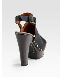 Givenchy - Black Connie Clogs - Lyst
