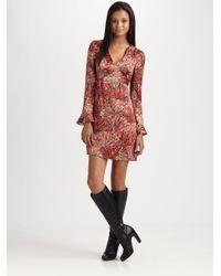 Nanette Lepore - Multicolor Cedarwood Dress - Lyst