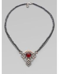 Stephen Webster | Metallic Diamond & Rose-Gold Lady Stardust Necklace | Lyst