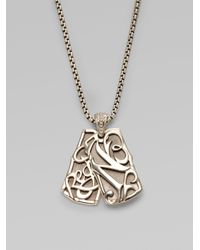 Stephen Webster | Metallic No Regrets Double Dog Tag Necklace | Lyst