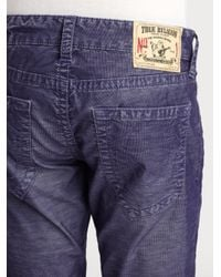 True Religion - Blue Hand Picked Slim Mens Jean for Men - Lyst