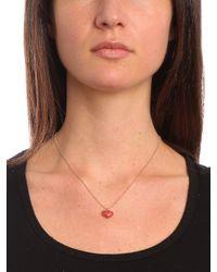 BaubleBar | Metallic Red Heart Pendant | Lyst