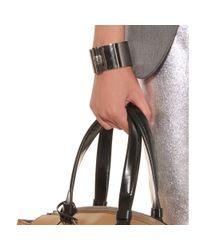 Reed Krakoff - Metallic T Bar Oval Sterling Silver Cuff Bracelet - Lyst