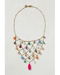 Wendy Mink - Metallic Raina Bib Necklace - Lyst