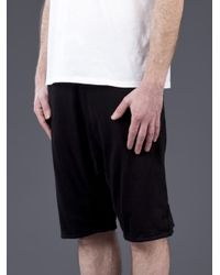 Hudson Jeans - Black Duck and Diver Sweat Shorts for Men - Lyst