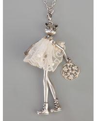Servane Gaxotte - Metallic Doll Pendant - Lyst