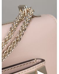 Valentino | Pink Studded Shoulder Bag | Lyst