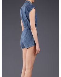 Motel Rocks | Blue Seraphina Jumpsuit | Lyst