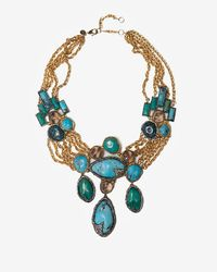 Alexis Bittar | Metallic Cordova Chrysocolla Necklace | Lyst