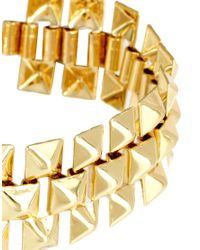 ASOS Collection | Metallic Asos Chunky Bracelets Rings Multipack | Lyst