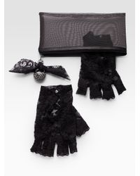 ABS By Allen Schwartz - Multicolor Cocktail Ring and Glove Set - Lyst