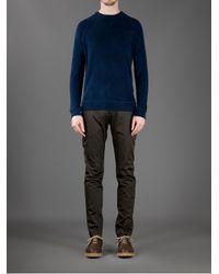 Dondup - Blue Crew Neck Sweatshirt for Men - Lyst