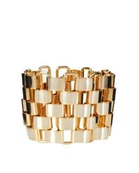 French Connection | Metallic Multi Link Bracelet | Lyst