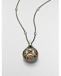 M.c.l  Matthew Campbell Laurenza   Multicolor Sapphire and Sterling Silver Necklace   Lyst